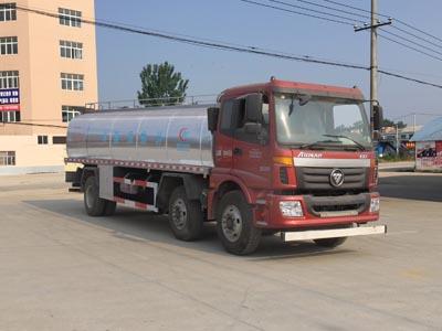 福田15方小三轴CLW5250GNYB5型鲜奶运输车-程力威牌CLW5250GNYB5型鲜奶运输车-免征: 无|燃油: 有