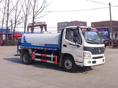 福田奥铃5.5方CLW5080GPSB5型绿化喷洒车-程力威牌CLW5080GPSB5型绿化喷洒车-免征: 有|燃油: 有
