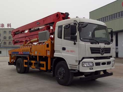 东风御龙单桥31-35米EHY5200THB型混凝土泵车-华专一牌EHY5200THB型混凝土泵车-免征: 无|燃油: 无