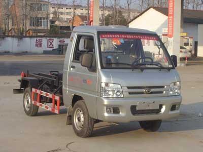 福田驭菱CLW5030ZXXB5型车厢可卸式垃圾车-程力威牌CLW5030ZXXB5型车厢可卸式垃圾车-免征: 有|燃油: 无