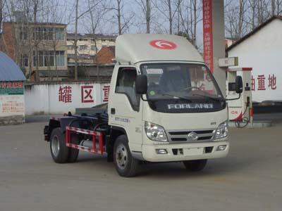 福田时代领航CLW5040ZXXB5型车厢可卸式垃圾车-程力威牌CLW5040ZXXB5型车厢可卸式垃圾车-免征: 无|燃油: 有