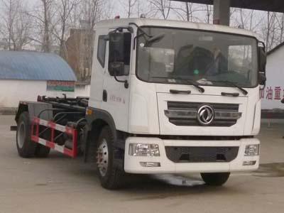 东风145  D9  CLW5160ZXXD5型车厢可卸式垃圾车-程力威牌CLW5160ZXXD5型车厢可卸式垃圾车-免征: 有|燃油: 无