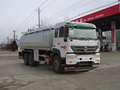 重汽后八轮24方CLW5250TGYZ5型供液车-程力威牌CLW5250TGYZ5型供液车-免征: 无|燃油: 无