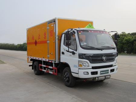 福田蓝牌CLW5080XQYB5型爆破器材运输车-程力威牌CLW5080XQYB5型爆破器材运输车-免征: 无|燃油: 有