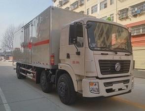 东风小三轴CLW5255XRQE5型易燃气体厢式运输车-程力威牌CLW5255XRQE5型易燃气体厢式运输车-免征: 无|燃油: 无