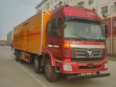 欧曼前四后八CLW5310XRYB5型易燃液体厢式运输车-程力威牌CLW5310XRYB5型易燃液体厢式运输车-免征: 无|燃油: 无
