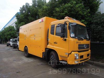 东风天锦CLW5160XXH5型救险车-程力威牌CLW5160XXH5型救险车-免征: 有|燃油: 无