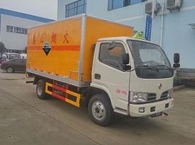 东风福瑞卡CLW5040XFWE5型腐蚀性物品厢式运输车-程力威牌CLW5040XFWE5型腐蚀性物品厢式运输车-免征: 无|燃油: 无