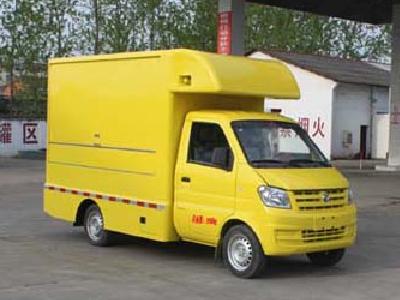 东风小康CLW5021XSHE5型售货车-程力威牌CLW5021XSHE5型售货车-免征: 无|燃油: 无