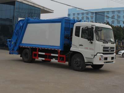 东风天锦CLW5160ZYSD5型压缩式垃圾车-程力威牌CLW5160ZYSD5型压缩式垃圾车-免征: 无|燃油: 无