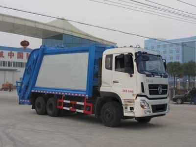 东风天龙CLW5251ZYSD5型压缩式垃圾车-程力威牌CLW5251ZYSD5型压缩式垃圾车-免征: 无|燃油: 无