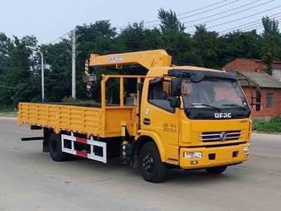 程力威牌CLW5090JSQE5型随车起重运输车-免征: 无|燃油: 无 title=