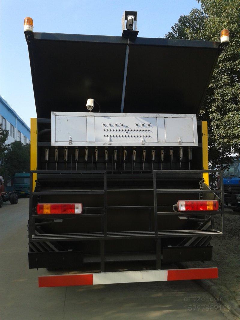 陕汽轩德10方同步碎石封层车