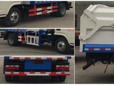 东风多利卡CLW5072ZDJT5型压缩式对接垃圾车